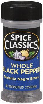 Spice Classics® Whole Black Pepper 2.25 oz. Shaker
