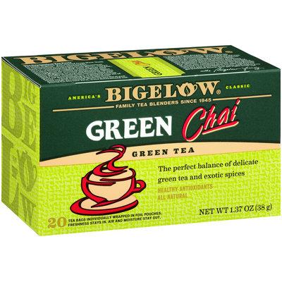 Bigelow® Green Tea Green Chai 1.37 oz. Box