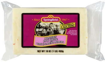 Springfield® Monterey Jack Cheese with Jalapeno Peppers 16 oz