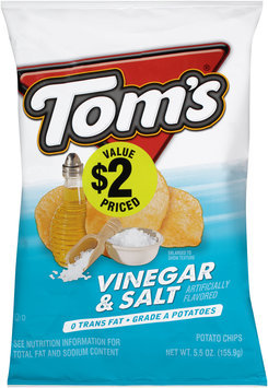 Tom's® Vinegar & Salt Potato Chips