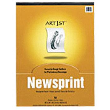 Pacon Creative Products Art1st Newsprint Pad 18x24 50 Sht