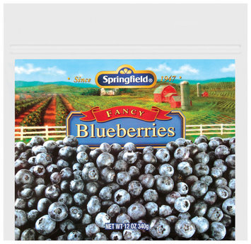 Springfield® Blueberries 12 oz. Pouch