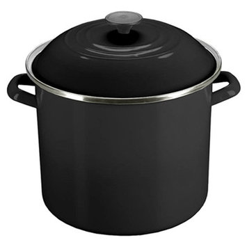Le Creuset 8-Quart Stockpot in Black Onyx