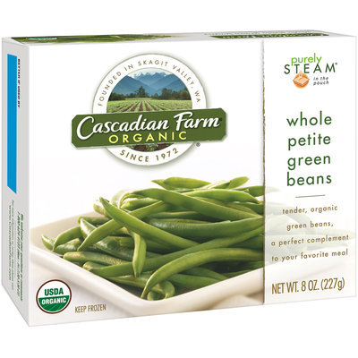Cascadian Farm Organic Whole Petite Green Beans