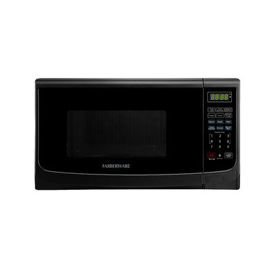 Farberware Classic 0.7 Cu. Ft. 700W Countertop Microwave Oven in Black