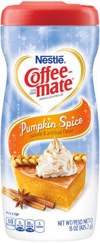 COFFEE-MATE Pumpkin Spice Powder Coffee Creamer 15 oz. Canister