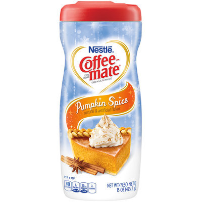Coffee-mate® Pumpkin Spice Powder Coffee Creamer