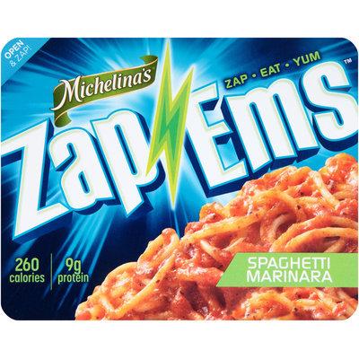 Michelina's® Zap 'Ems™ Spaghetti Marinara 7.5 oz. Tray