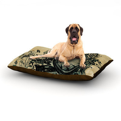 Kess Inhouse 'Sound of Nature' Dog Bed, 60 L x 50 W