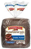 Pepperidge Farm Pumpernickel Bread Dark Pump 16 Oz Loaf