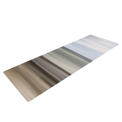 Kess Inhouse Abstract Beach by Iris Lehnhardt Yoga Mat