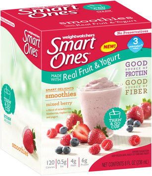 Smart Ones® Smart Delights Mixed Berry Smoothies 8 fl. oz. Box