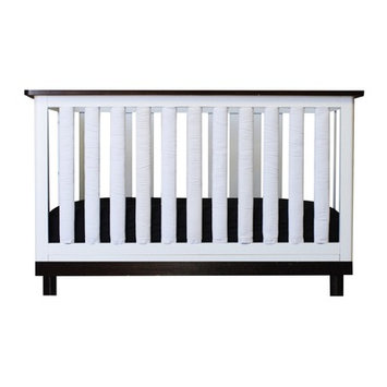 Go Mama Go Doctor Approved Wonder Crib Size: 38 Pack, Color: Black / White