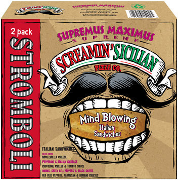 Screamin' Sicilian™ Pizza Co. Supremus Maximus Supreme Stromboli 2 ct Box
