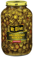 Mt. Olive Fresh Pack Jalapeno Slices 128 Oz Jar