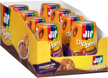 Jif To Go® Chocolate Silk Peanut Butter with Pretzels Dippers 1.69 oz. Pack
