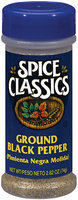 Spice Classics Ground Black Pepper 2.62 Oz Shaker