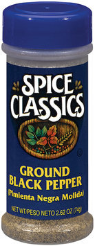 Spice Classics Ground Black Pepper 2.62 Oz Shaker