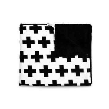 Olli+lime Cross Baby Blanket