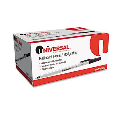 Universal Economy Ballpoint Stick Oil-Based Pen, 60 Per Pack
