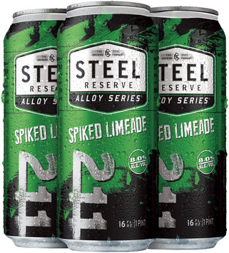 Steel Reserve® Alloy Series Spiked Limeade 4-16 fl. oz. Cans