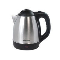Courant 1.2 Liter Cordless Electric Stainless Steel Kettle