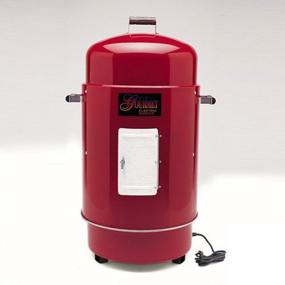 Brinkmann 810-7080-4 Gourmet Electric Smoker & Grill- Red