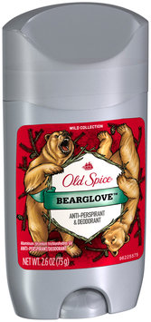 wild collection old spice wild collection bearglove invisible solid antiperspirant & deodorant