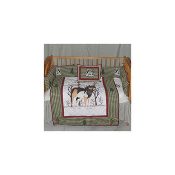Patch Magic Call of The Wild 9 Piece Crib Bedding Set