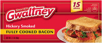 Gwaltney® Hickory Smoked Bacon 2.1 oz. Box