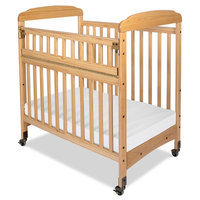 Child Craft Bella SafeAccess Compact Crib Clearview - Natural