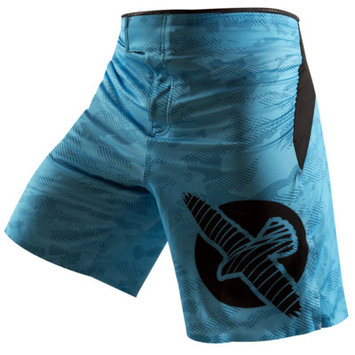 Hayabusa Weld3 Fight Shorts Color: Blue, Size: 38