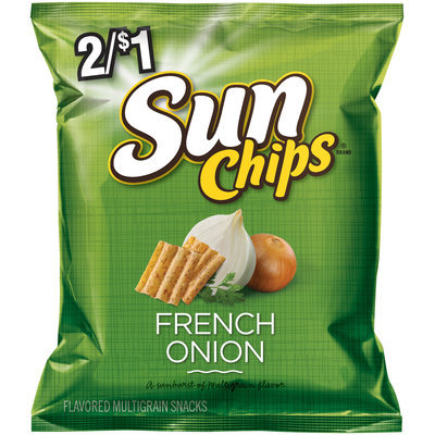 Sun Chips® French Onion Multigrain Snacks 1.25 oz. Bag