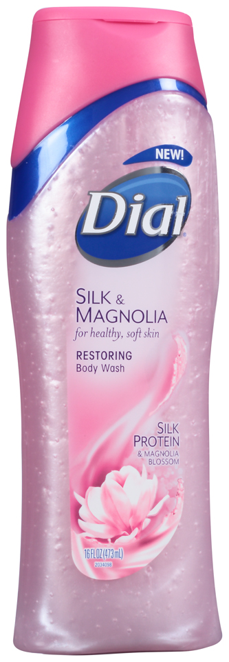 Dial® Silk & Magnolia Restoring Body Wash 16 fl. oz. Bottle