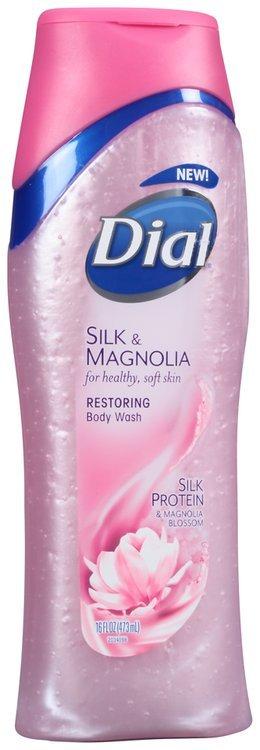 Dial® Silk & Magnolia Restoring Body Wash 16 fl. oz. Bottle