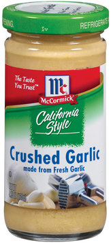 Dry Onion & Garlic  California Style Crushed Garlic 4.25 Oz Shaker