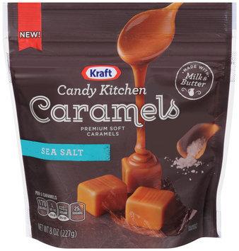Kraft Candy Kitchen Sea Salt Soft Caramels
