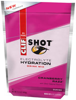 CLIF Shot® Electrolyte Hydration Cranberry Razz™ Drink Mix 15.5 oz. Pouch