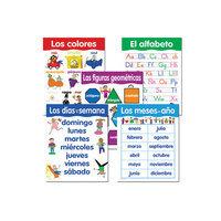 Creative Teaching Press CTP5792 Spanish Basic Skills 5 Chart Pack