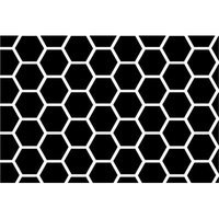 Stwd Honeycomb Fitted Bassinet Sheet Color: Black