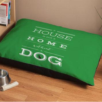 Checkerboard Man's Best Friend Dog Bed