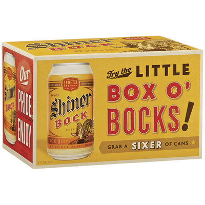 Shiner Bock Little Box O' Bocks! Beer