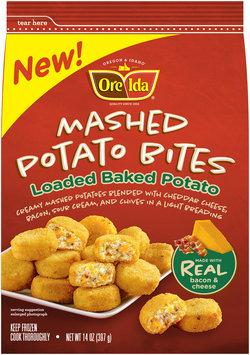 Ore-Ida® Loaded Baked Potato Mashed Potato Bites 14 oz. Bag