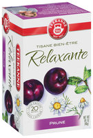 Teekanne Herbal Wellness Evening Plum Tea Bags