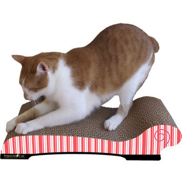 Imperial Cat Large Chaise Lounge Recycles Paper Cat Scratching Board Style: Valentine B