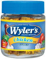 Wyler's® Chicken Instant Bouillon Cubes 5.89 oz. Jar