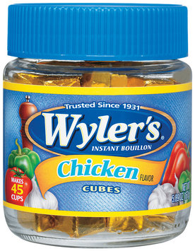 Wyler's® Chicken Instant Bouillon Cubes 5.89 oz. Jar