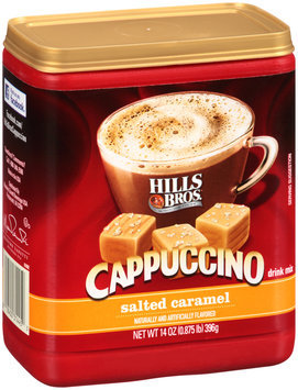 Hills Bros® Salted Caramel Cappuccino Drink Mix 14 oz. Canister