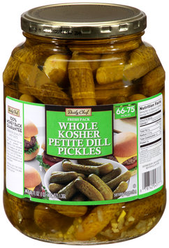 Daily Chef™ Whole Kosher Petite Dill Pickles