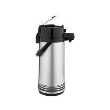 Update International NLD-25-BK-SF Glass Lined 2.5L Lever Stainless steel Airpot